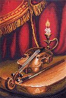 Скрипка. Канва с рисунком