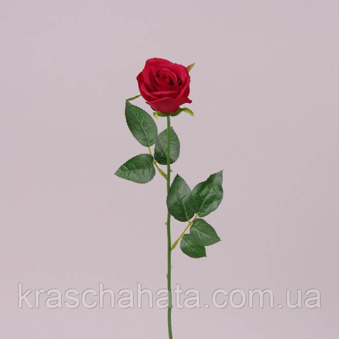Роза, бутон, Н56 см, крем, Искусственный цветок, Днепр