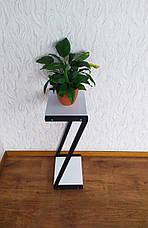 Белая подставка для цветов в стиле Loft 760 (Z) от производителя, фото 2