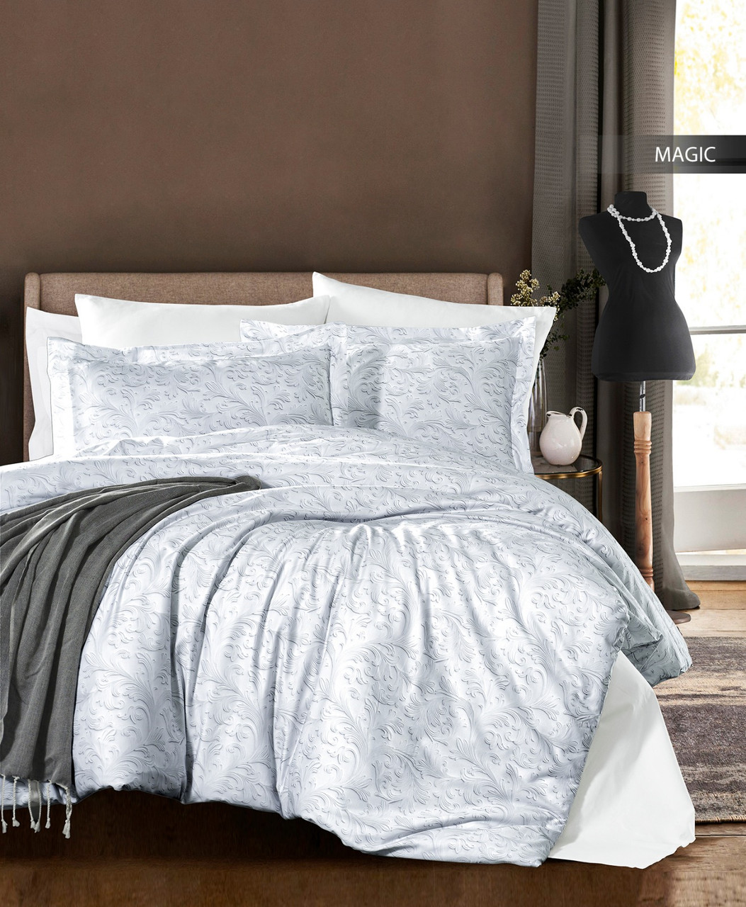 Комплект постельного белья Ecosse Сатин 200х220 Magic