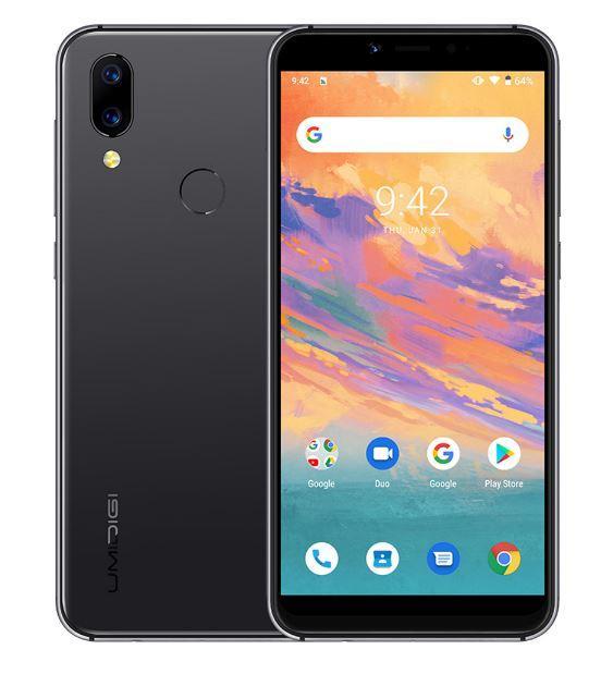 Смартфон UMIDIGI A3S Black