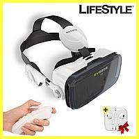 Очки виртуальной реальности VR BOX Z4 с наушниками + Подарок Apple