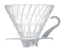Фильтр-кофеварка Hario V60 02 Glass Dripper (600 мл) White