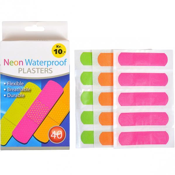 "Пластырь "" Neon Waterproof  ""                                                                   Артикул: 58290"