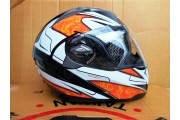 Шлем-трансформер BLD черно -оранжевый