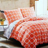 Комплект постельного белья из сатина Pattern Orange - 5066