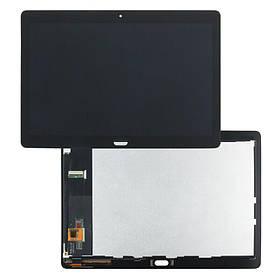 Дисплей (екран) для планшета Huawei MediaPad M3 Lite 10 BAH-L09 з сенсором (тачскрін) чорний