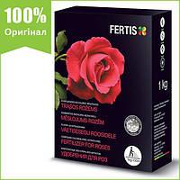 Удобрение Fertis для роз (1 кг), NPK 12-8-16 + микроэлементы, Литва