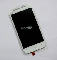 Дисплей (экран) + сенсор (тач скрин) HTC One SV C520e, T528t (оригинал)