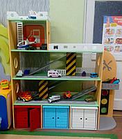 """Детский игровой гараж для машинок """"Парковка"""""""