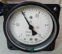Мановакуумметр МВОШ1-100 -1...1.5 кгс (100кПа...150кПа)