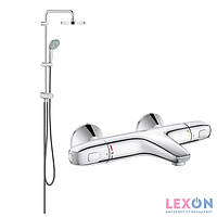 Душевая система Grohe Tempesta New 27389002 + Grohe Grohtherm 1000 34155003