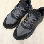 Чоловічі кросівки Adidas Nite Jogger РЕФЛЕКТИВ (чорні) 1947, фото 5