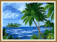 Фото обои, Багамские острова 8 листов, размер 134 x 194 см