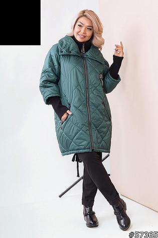 Куртка женская демисезонная размеры: 52-66, фото 2