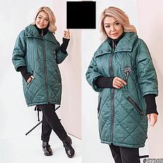 Куртка женская демисезонная размеры: 52-66, фото 3