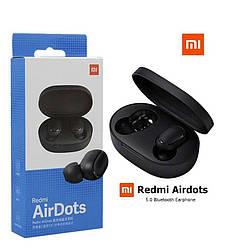 Беспроводные наушники Xiaomi Redmi AirDots (Оригинал) Черные