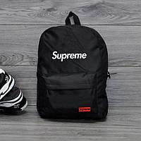 ХИТ!  Молодежный рюкзак SUPREME, суприм. Черный / sp 2, фото 1