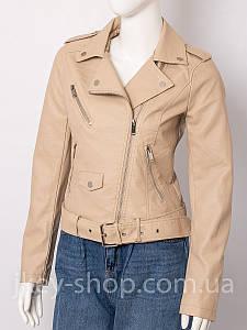 Куртка женская COLYNN HW2107 BEIGE косуха