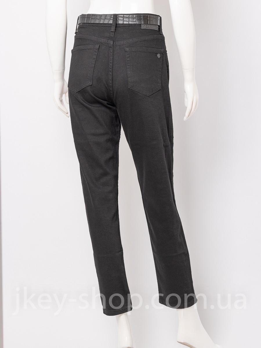 Джинсы женские CRACPOT 3931 MOM BLACK+REMEN  - купить со скидкой