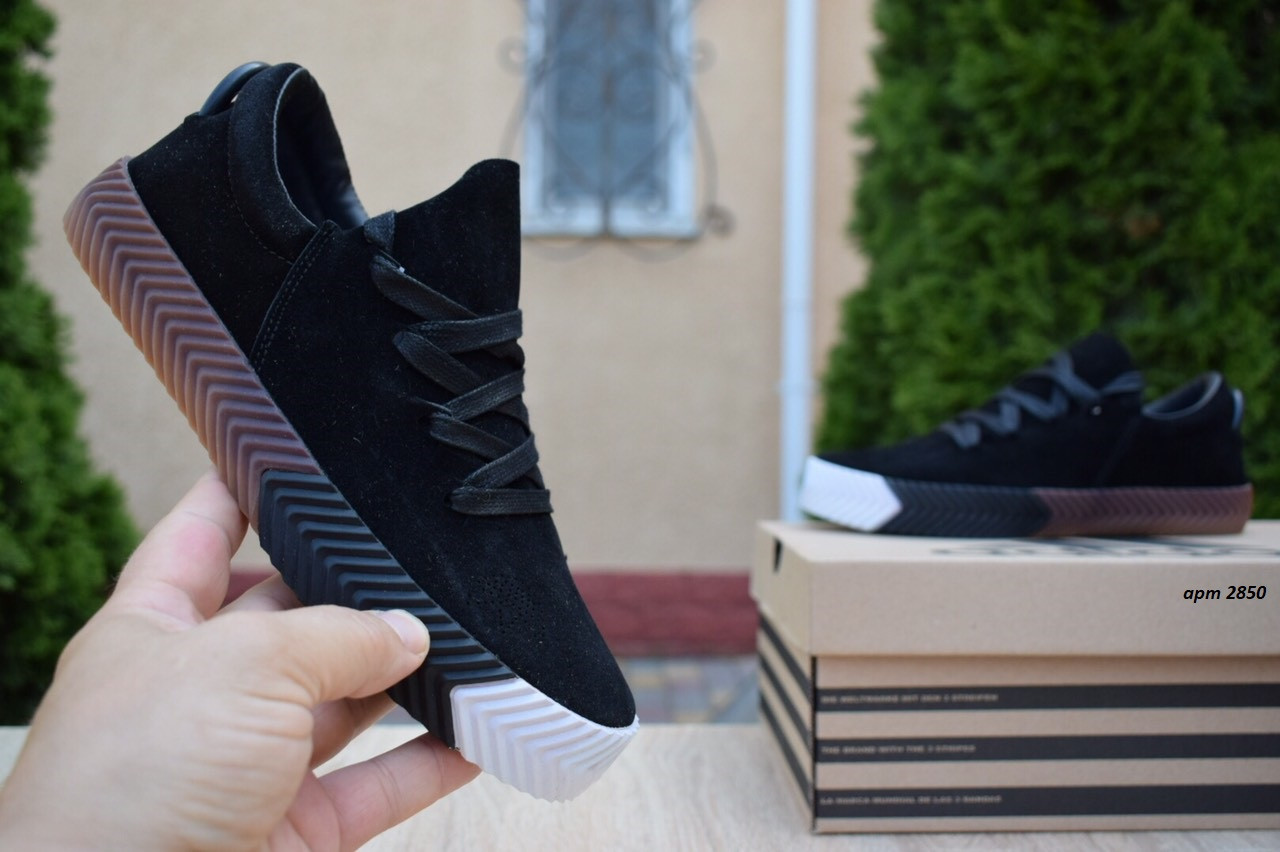 Женские кроссовки Adidas Alexander Wang (черные) 2850