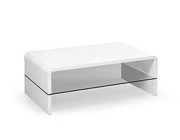 Журнальный стол CLAUDIA белый (110х60х41) Halmar