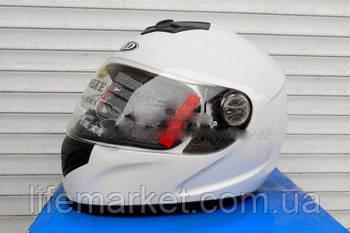 Шлем-интеграл AD белый