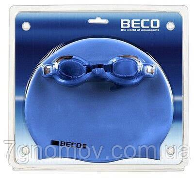 Набор для плавания для взрослых (шапочка и очки для плавания) BECO арт. 9905 611