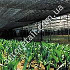 Затеняющая сетка зеленая 45% тени 2х100 м, фото 4