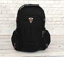 Вместительный рюкзак SwissGear Wenger, свисгир. Черный. 35L / s7655 black