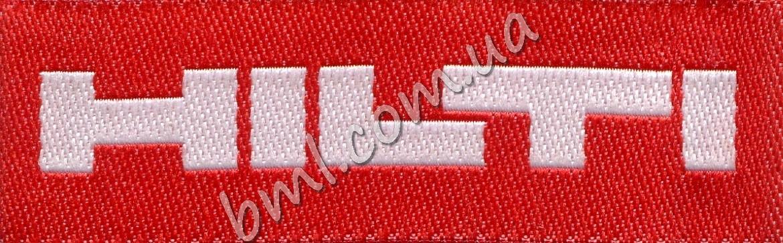 Этикетки с логотипом