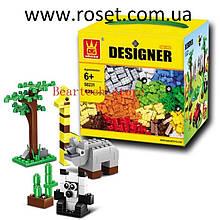 Дитячий конструктор WANGE Designer на 625 деталей модель 58231