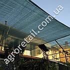 Затеняющая сетка зеленая 45% тени 4х50 м, фото 3