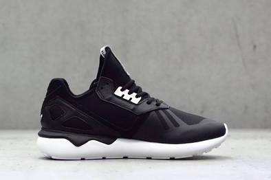 Мужские кроссовки adidas Tubular Runner - Black/Black/Whitе