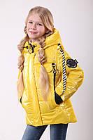 Куртка для девочки на весну интернет магазин  36-44 Желтый