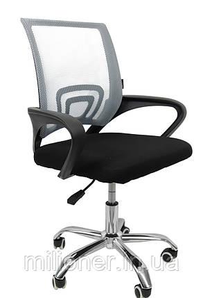 Кресло Bonro B-619 серое, фото 2