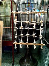Мотузкова мережу для папуги XL