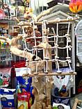 Веревочная сеть для попугая XL, фото 4