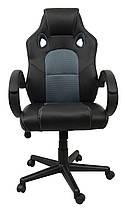 Кресло геймерское Bonro B-603 Grey, фото 2