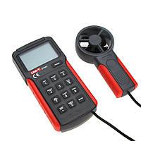 Анемометр UNI-T UT-361 (1,00-30,00 м/с; 0-40ºC; 0-999900m3/min)