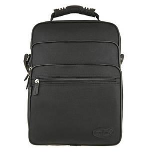 Мужская сумка Wallaby вертикальная 4 отделения резиновая ручка 26х35х20 ткань полиэстер    в 2281, фото 2