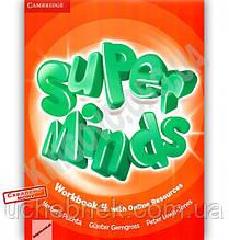 Робочий зошит Англійська мова Super Minds 4 Workbook Авт: Herbert Puchta Вид: Cambridge
