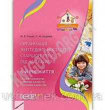 Організація життєдіяльності дітей старшої групи під час канікул 6-й рік життя Авт: Педан М. Вид: Основа