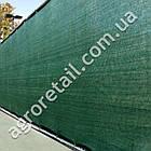 Затеняющая сетка зеленая 85% тени 3х50 м, фото 3