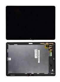 Дисплей (екран) для планшета Huawei MediaPad T3 10.0 (AGS-L09) з сенсором (тачскрін) чорний Оригінал