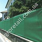 Затеняющая сетка зеленая 85% тени 4х50 м, фото 3
