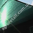 Затеняющая сетка зеленая 85% тени 4х50 м, фото 2
