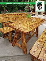 Стол садовый в беседку, на дачу или во двор ручная работа
