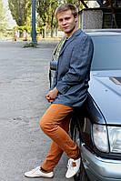 Светло-серый мужской пиджак