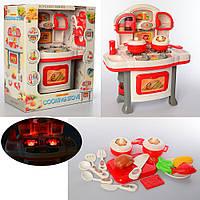 Детская мини кухня с  плитой и духовкой